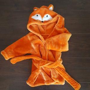 Fox robe 0-9 months